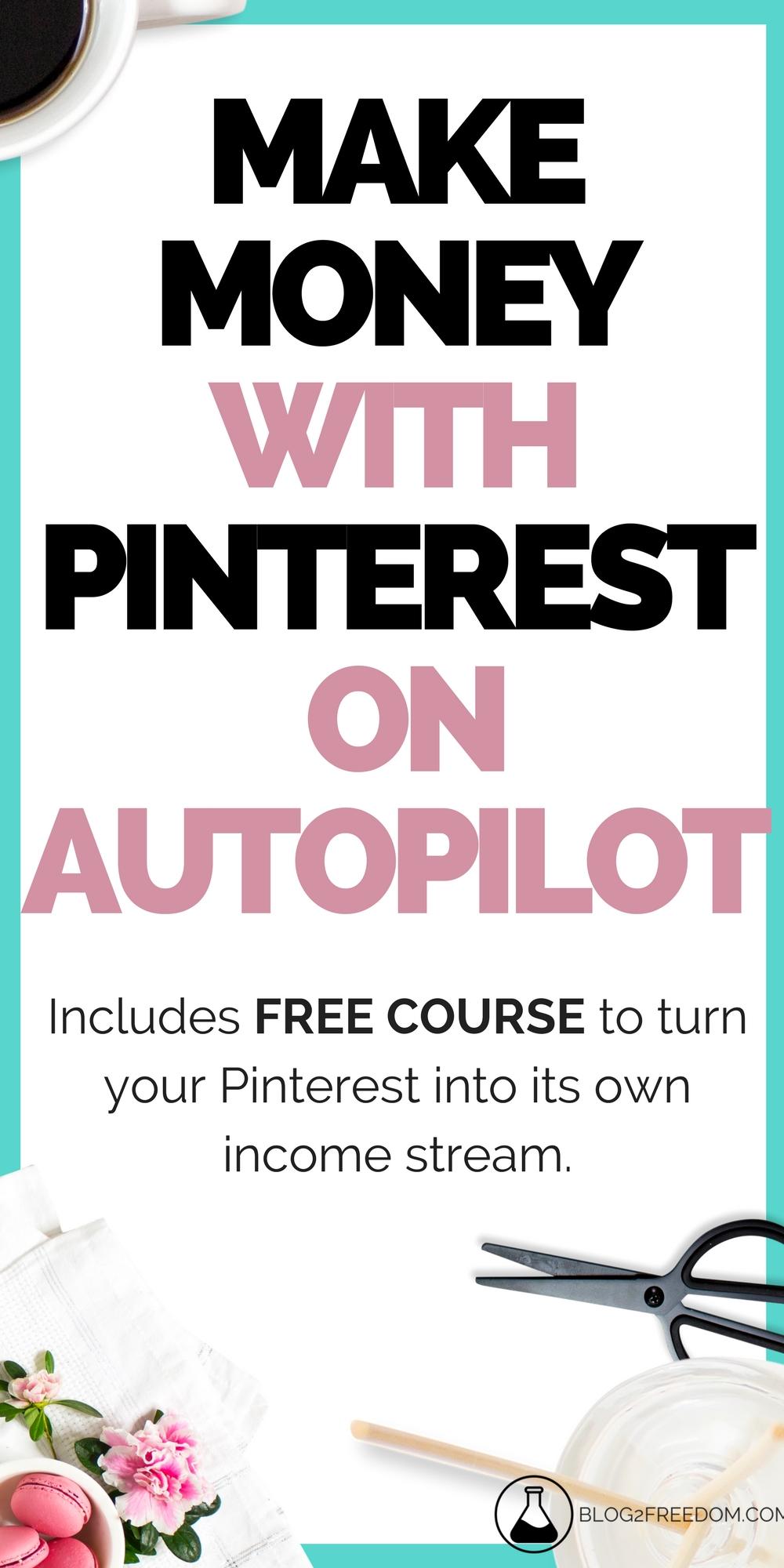 Make money with Pinterest