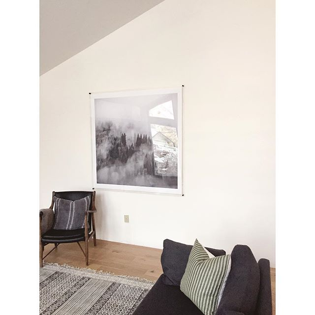 Creating a DIY post on this awesome Plexiglass frame and custom print! It's 5x5ft!!! Does anyone have any tips on taking pictures of mounted art? It's so reflective that it's hard to get a shot of the print itself.  #Howyouhome  #littleaccountlove #ourtruehaven #interiorwarrior #bhgcelebrate #currenthomeview #lonnyliving #kismetcheckoutmyhouse #inmydomaine #howwedwell