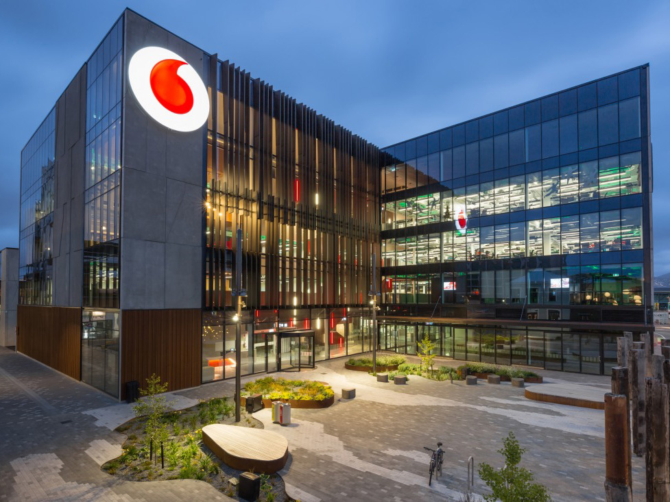 Vodafone Christchurch -