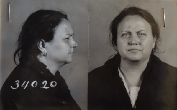 Teolis hired 2 hit men to kill her husband. In March 1935, hangman Arthur Ellis miscalculated the length of rope required for her execution, and she was decapitated. This shocking event led to a huge public outcry and signaled the end of Ellis's career.   Photo courtesy of Library and Archives Canada
