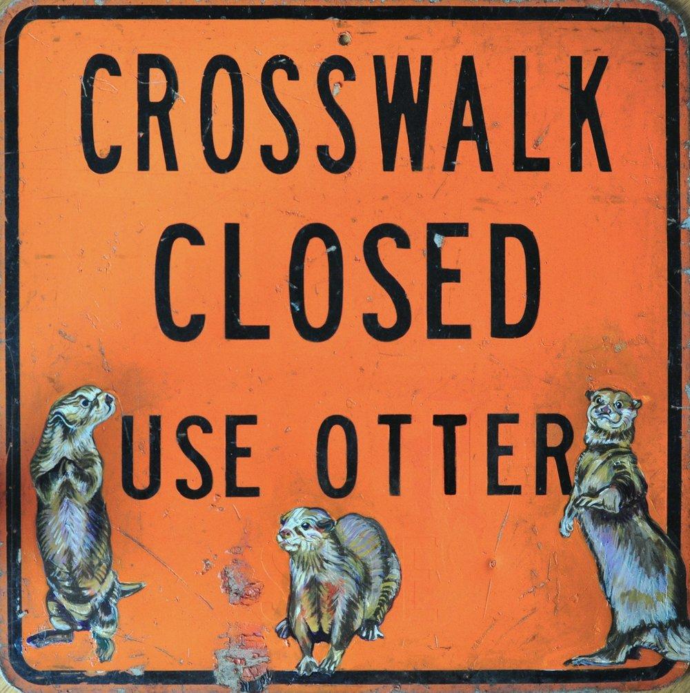 Crosswalk Closed
