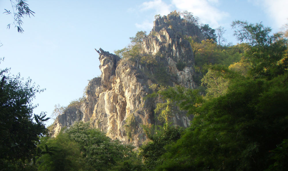 The place that started it all. Crazy Horse Buttress, Thailand 2007.