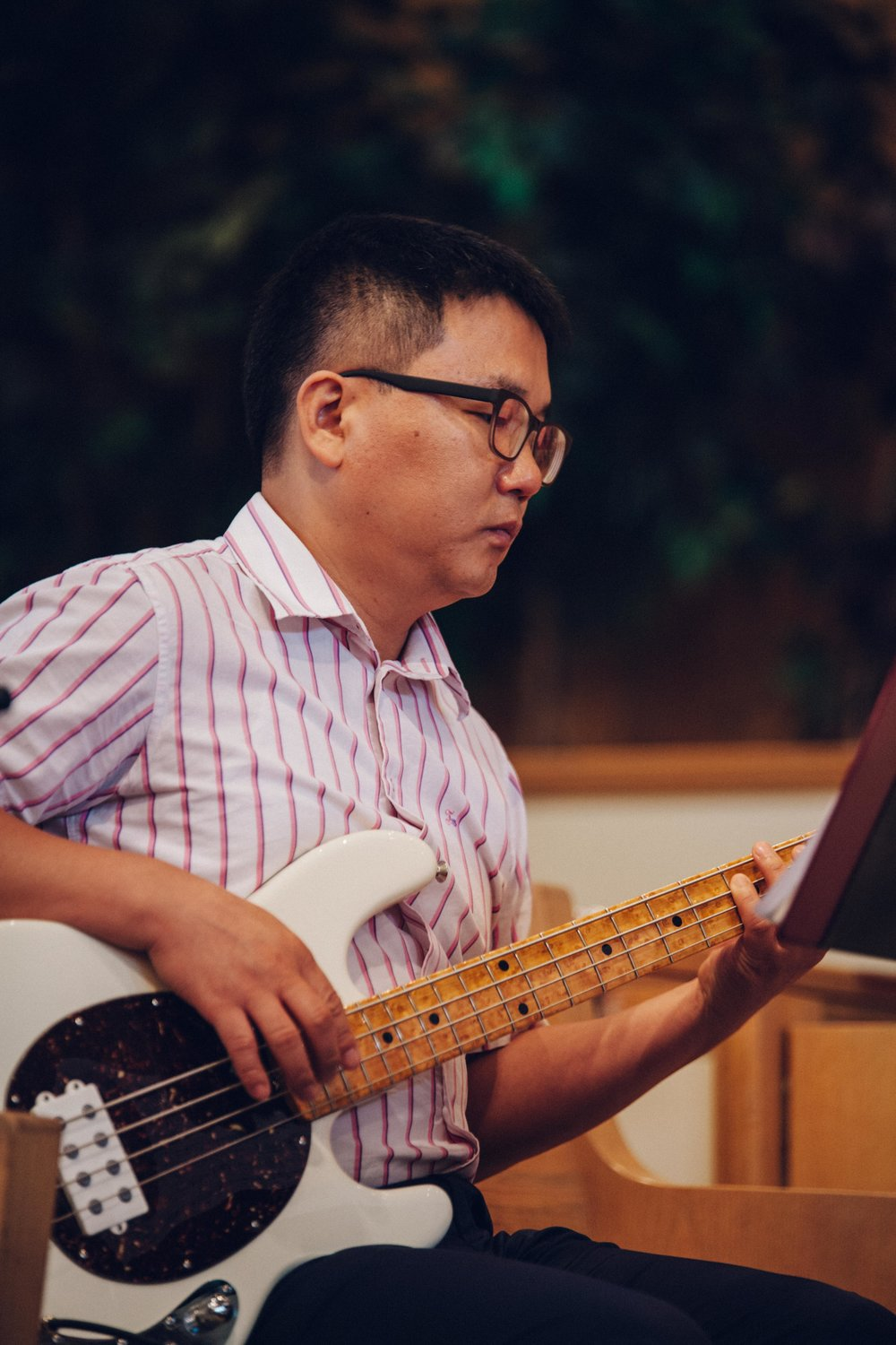 James Kang, Bass