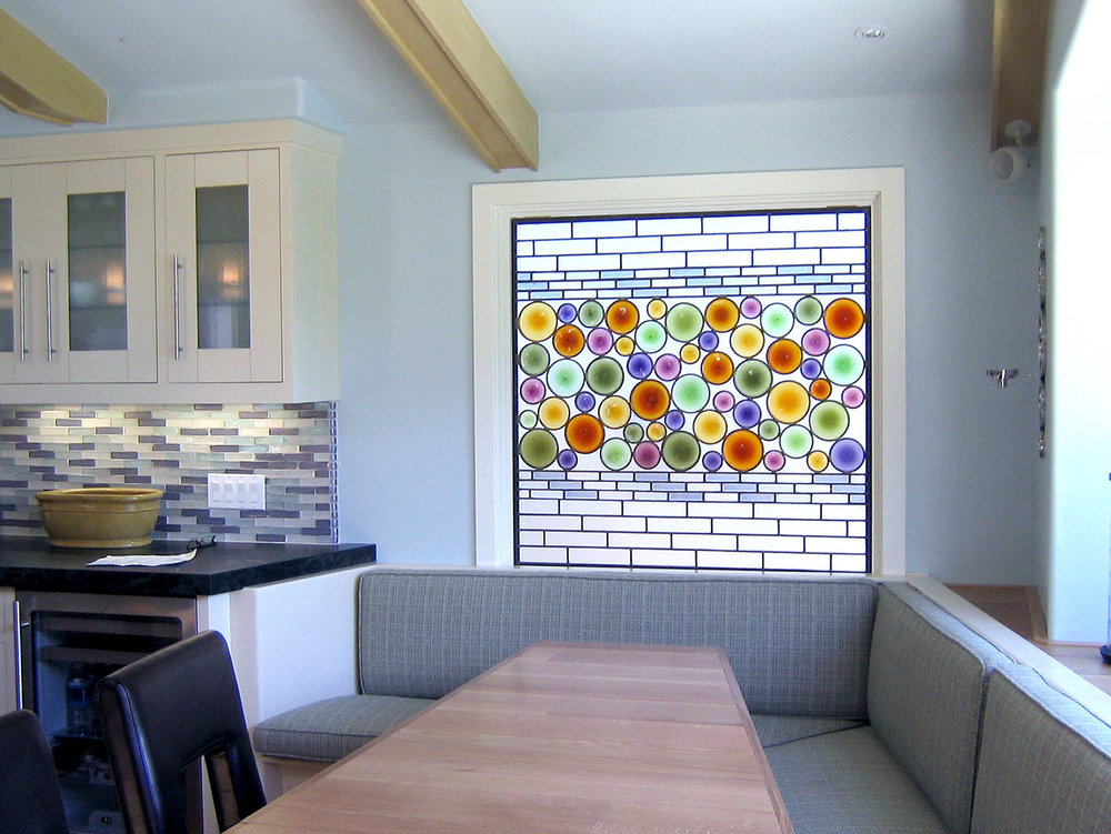 rondel bottle glass tile stained glass palo alto atherton menlo park san jose san francisco bay area legacy glass.jpg