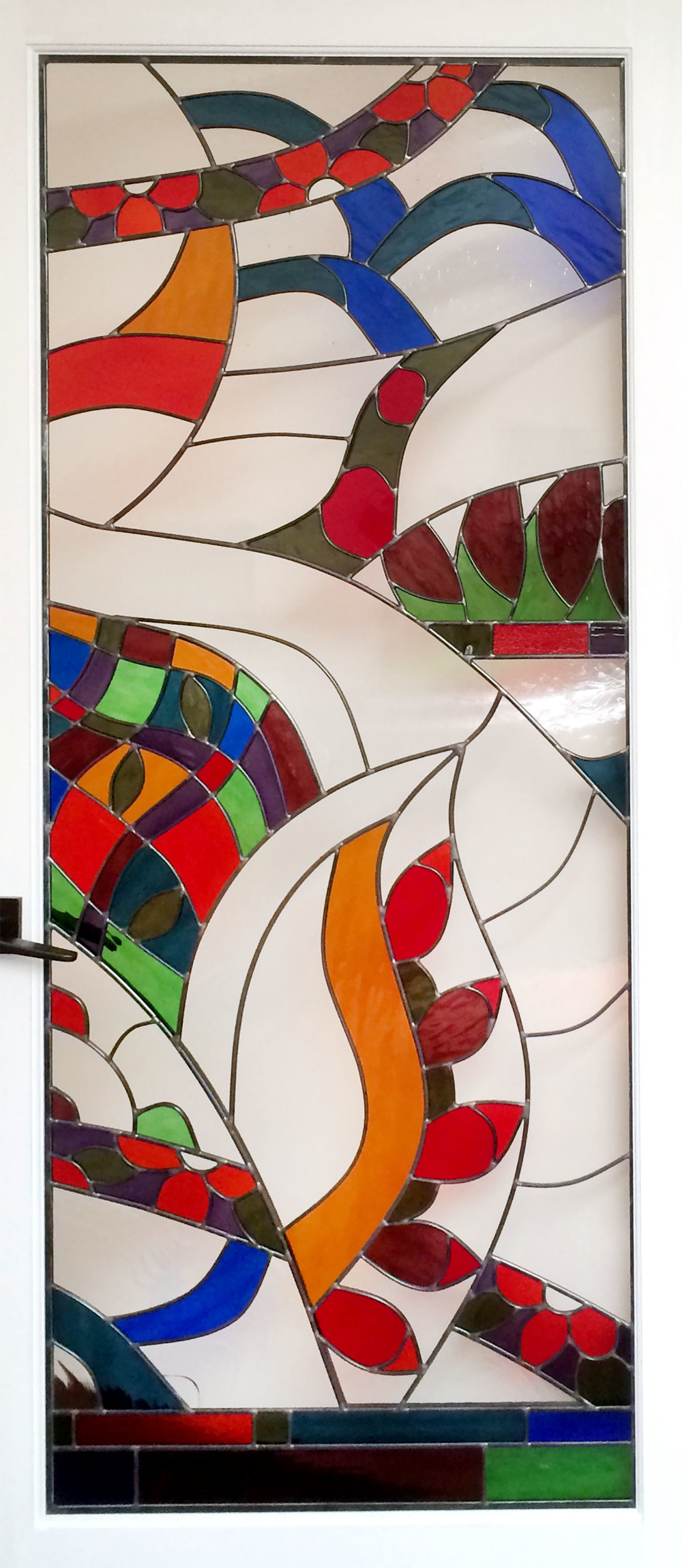 stained glass abstract dragon palo alto atherton menlo park san jose san francisco bay area.jpg