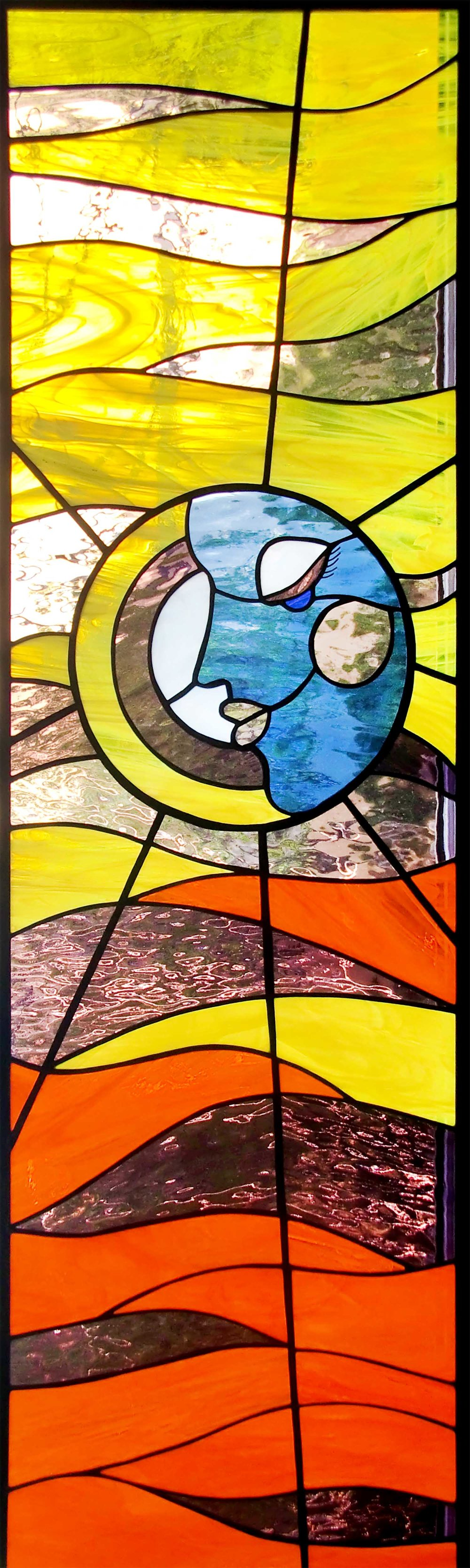 summer abstract face stained glass palo alto atherton menlo park san jose san francisco bay area.jpg