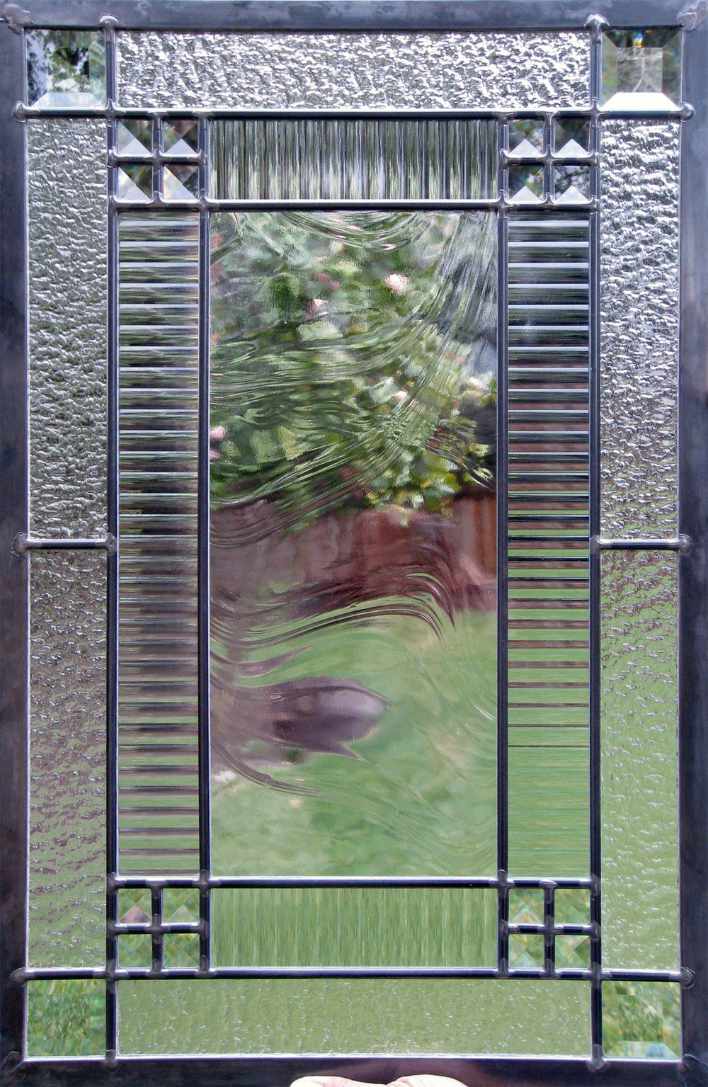 clear texture baroque corded granite glass leaded glass stained glass window palo alto atherton california san francisco san jose legacy glass.jpg