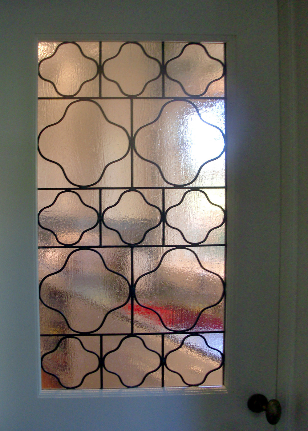 traditional clear texture leaded glass stained glass window palo alto atherton california san francisco san jose legacy glass3.jpg