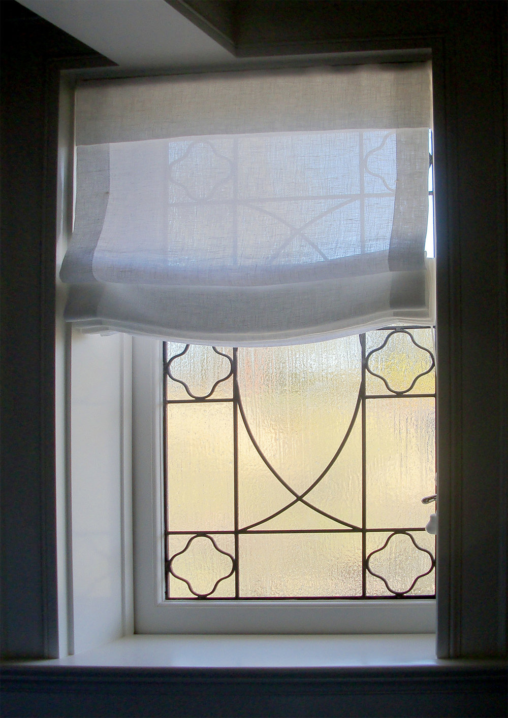 traditional clear texture leaded glass stained glass window palo alto atherton california san francisco san jose legacy glass2.jpg