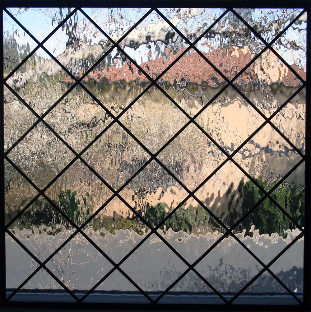 square diamond water glass clear texture leaded glass stained glass window palo alto atherton california san francisco san jose legacy glass.jpg