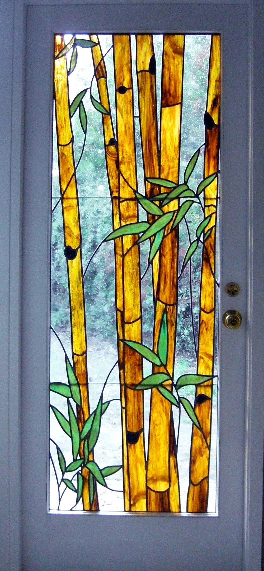 bamboo leaded glass stained glass studio palo alto atherton california san francisco san jose legacy glass.jpg