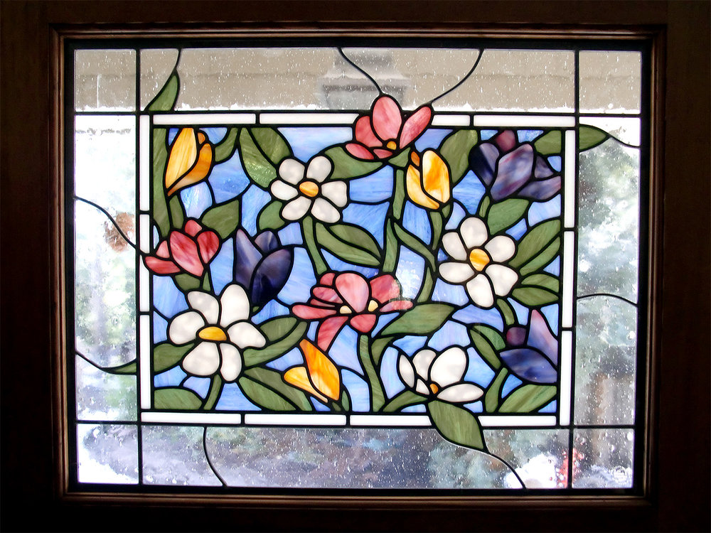 floral leaded glass stained glass studio palo alto atherton california san francisco san jose legacy glass.jpg