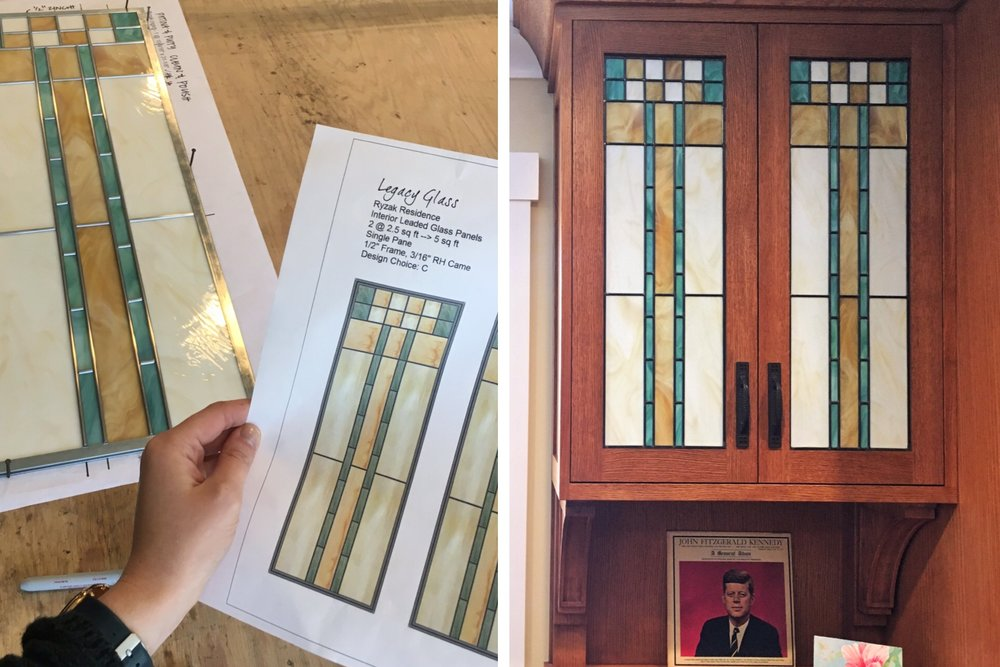 modern geometric craftsman opaque design drawing building leaded glass stained glass window studio palo alto atherton california san francisco san jose legacy glass.JPG