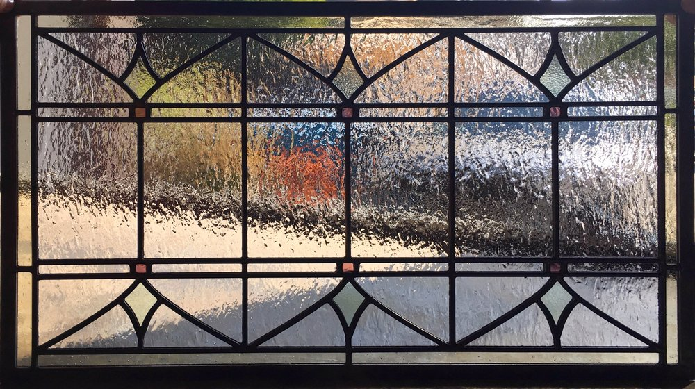 Stained Leaded Glass Legacy Glass Studios Atherton San Francisco Menlo Park California Custom Design Craftsman Victorian.JPG
