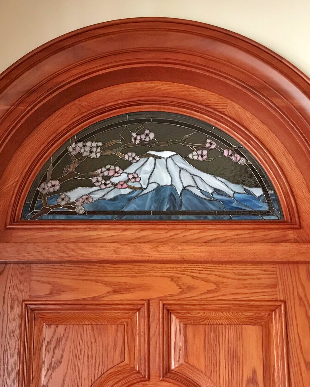 mt fuji stained glass copper foil design spectrum glass transom door custom art glass legacy glass studios california portola valley bay area.jpg