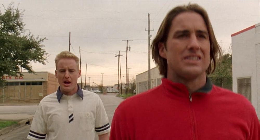 screenshot from  Bottle Rocket , 1996