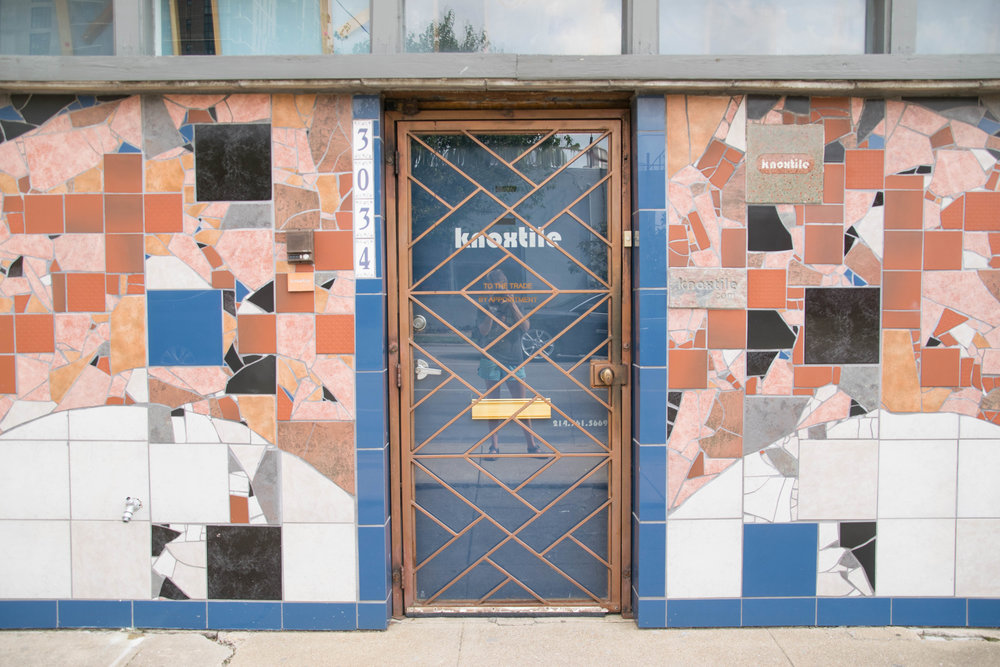 knoxtile has one of the most beautiful facades in the neighborhood