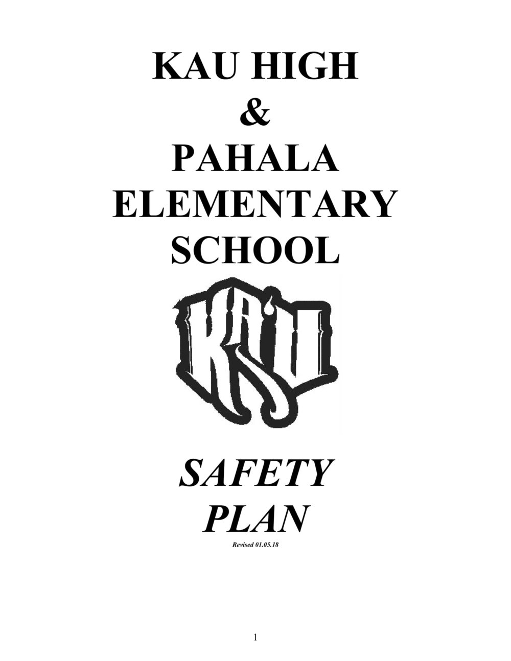 Safety Plan
