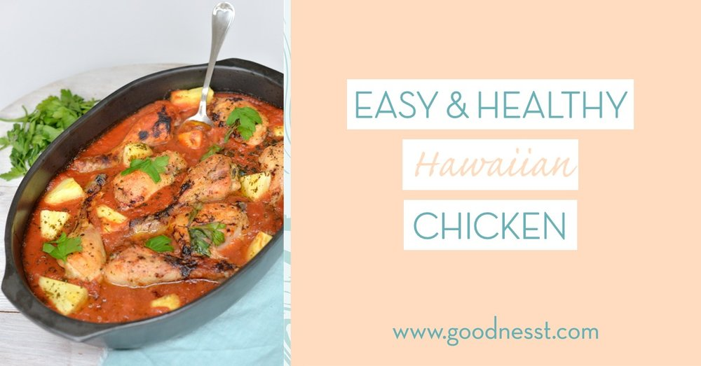 Easy and healthy hawaiian chicken recipe