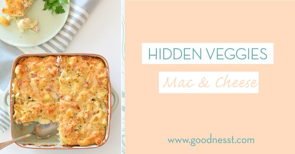 goodnesst - recipe - hidden veggies - mac & cheese - pasta - healthy recipe - amelie van der aa