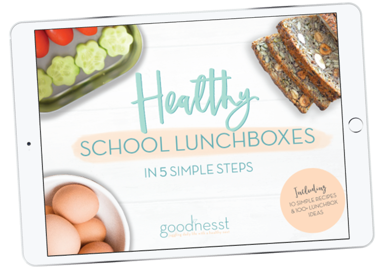 Healthy School Lunchboxes in 5 Simple Steps