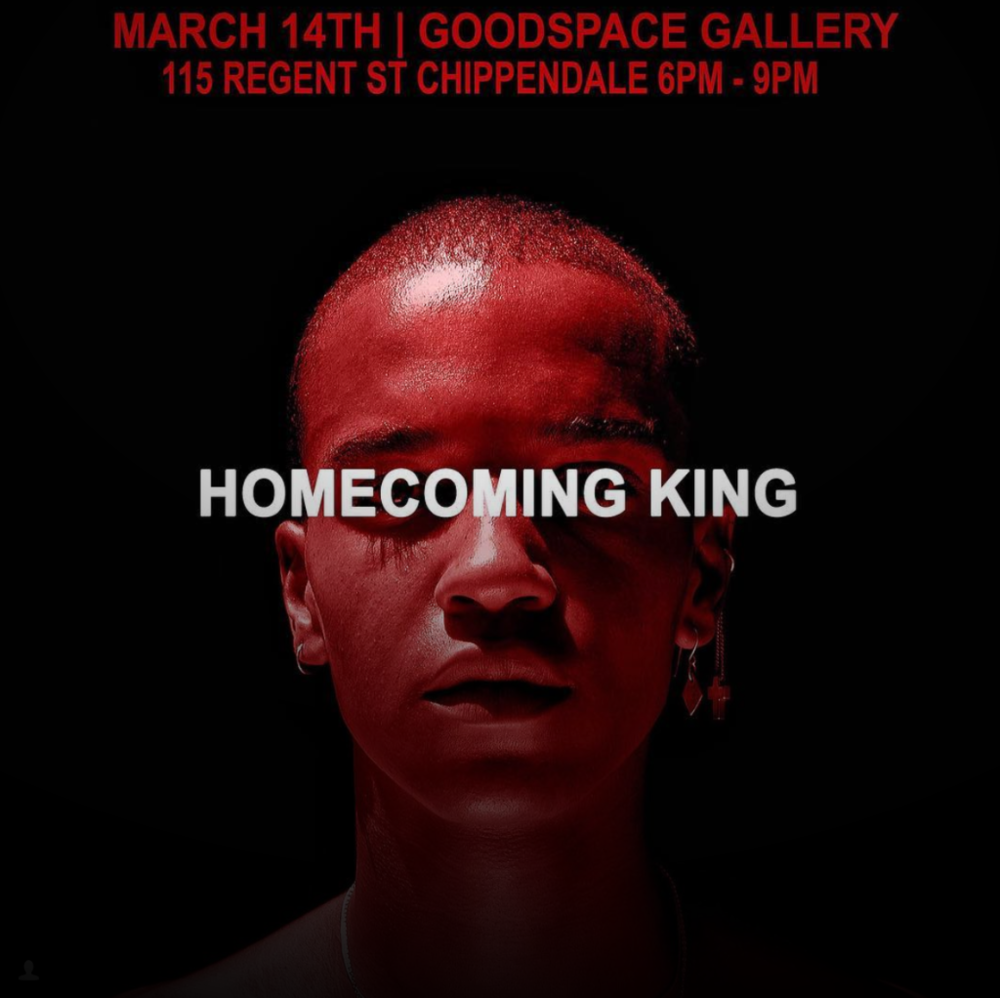 Event Invite: Homecoming King - Jaycee Mentoor hosts his first solo exhibition titled 'Homecoming King' at Goodspace Gallery, Sydney. South African born, raised in New Zealand and recently moved to Australia, Jaycee explores notions of race and identity in his sensual, dreamlike imagery. The exhibition title has various layers of meaning, from the pinnacle of American high school culture, the arrival of youth to adult, the imageries royal aesthetics, and Jaycee's personal step into his debut solo show.A selection of images from the exhibition can be previewed below.