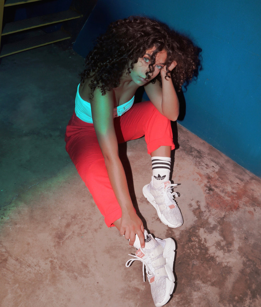 Casting: Adidas via AND People  - Jayme joins a collection of fashion influencers selected by AND People to promote the launch of the Adidas Prophere sneakers. Jayme has an Instagram following of over 200K with loyal followers who follow her hair tutorials. Campaign executed by AND People.