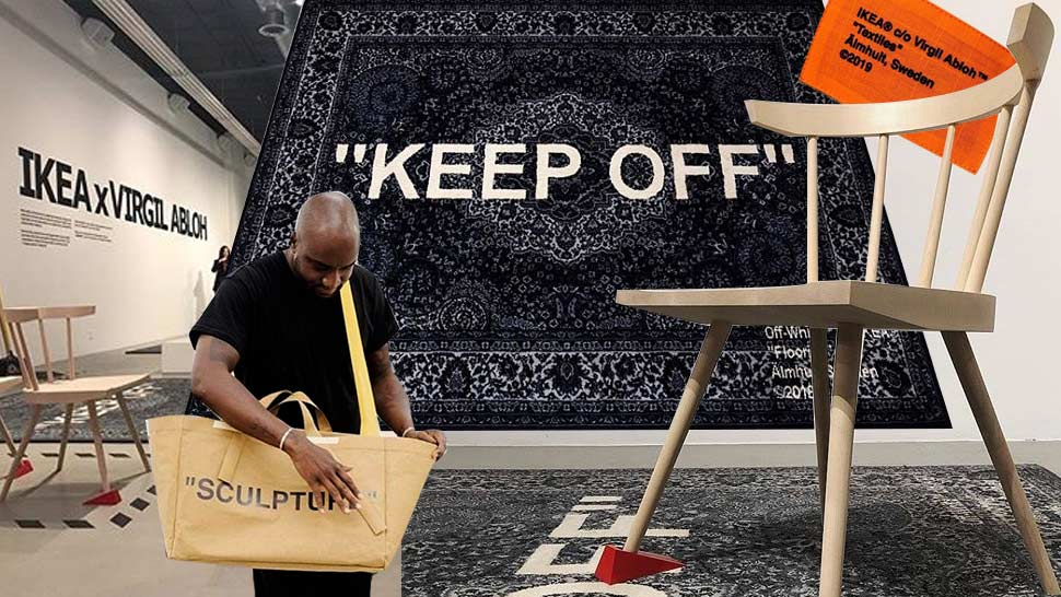 virgil abloh off white IKEA