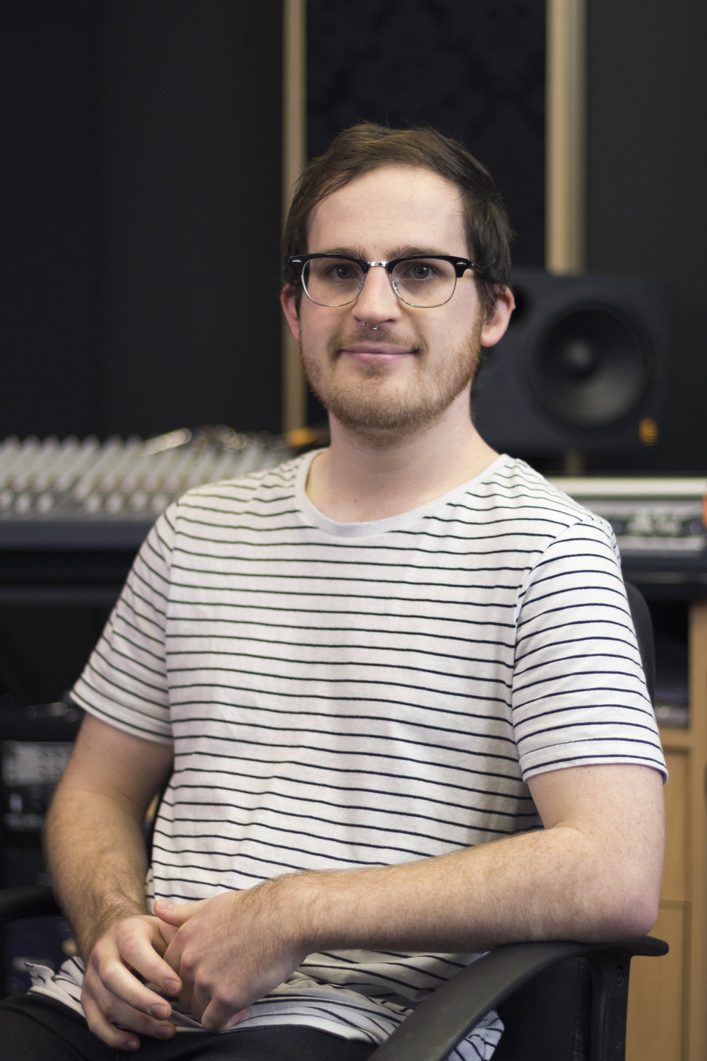 Calum McLaughlin (Calum JM Recordings)   Recording Engineer // Mixing Engineer // Mastering Engineer  Specialising in guitar-driven indie rock, Calum has worked with the likes of Great Gable, Spacey Jane, Holding Giants, Chelsea Jones, and Mixed Signals.  Honing his skills as an engineer by practising techniques discovered from shadowing established Perth engineers Simon Struthers and Rob Grant.