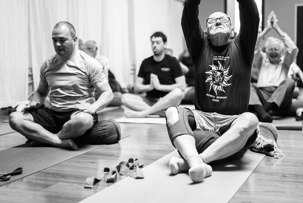 Seva Project - yoga for veterans