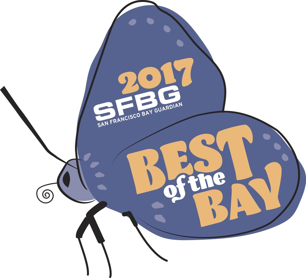San Francisco Bay Guardian's Best of the Bay  BEST  YOGA STUDIO 2017