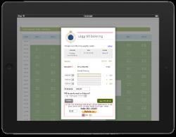 MyCourt integration som möjliggör automatisk tilldelning av access vid sålda bantider.
