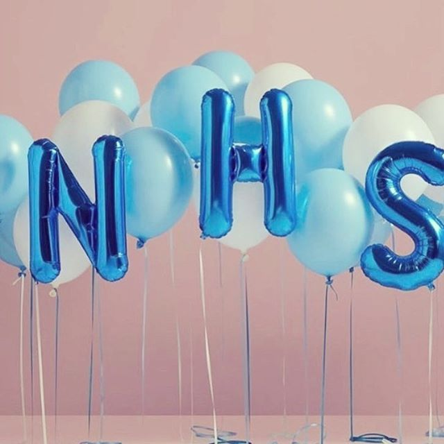 Happy 70th birthday to our amazing #NHS 🎈  I don't know anyone who thinks we're not incredibly lucky to have this wonderful health service. One that treats us all without prejudice from even before the cradle to the grave.  As with most of you, my most memorable experience has been giving birth in an NHS hospital. The entire staff - particularly the 3 midwives I got through 😂 - were mind blowingly awesome! I remember being astounded that they do this every.single.day. It must take such strength. The aftercare I received was amazing too and their passion for newborn babies shone so bright I was taken aback. The way they cooed and fussed over my baby was so genuine and heartfelt 💕  Heading to a different hospital to have baby number two as we've moved, so hoping the team there are as impressive.  Did you have your babies in the same hospital or one / more at home or somewhere else?  #NHSIs70 #happybirthdaynhs