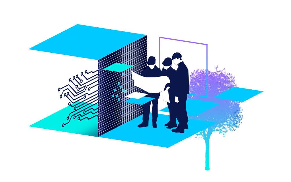 Lösungsentwicklung - Wir beraten und denken produktneutral – stets auf dem aktuellen Stand der Technik.Lösungsentwicklung