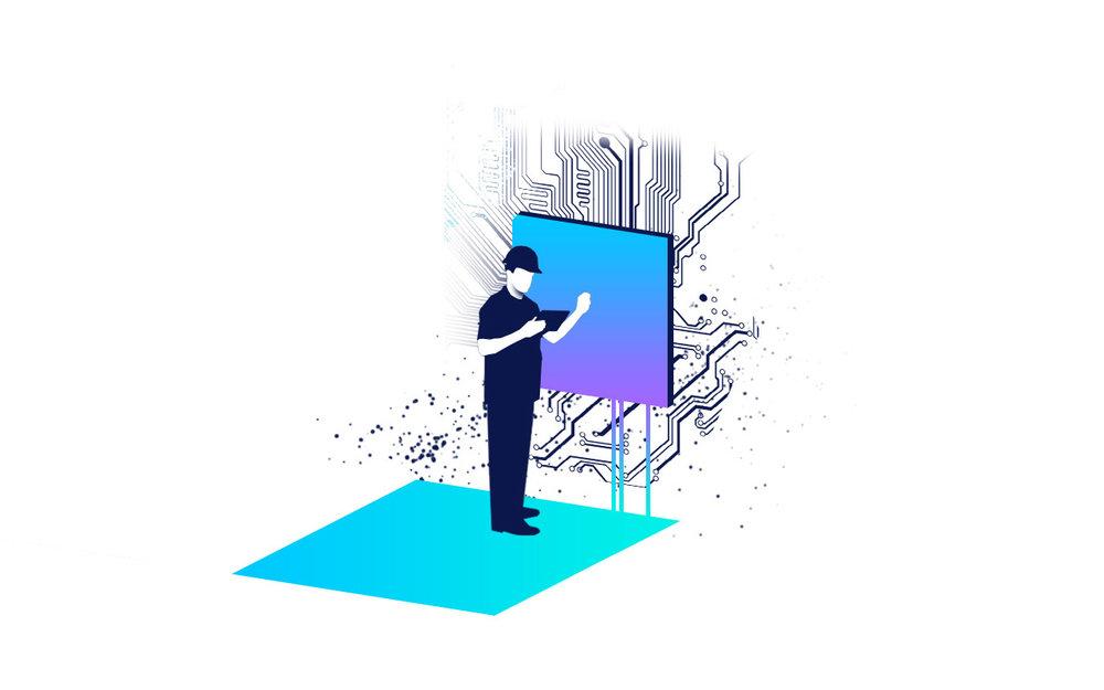 Service - Ihr Automationssystem soll über Jahre intakt bleiben. Wir pflegen es sorgsam.Service