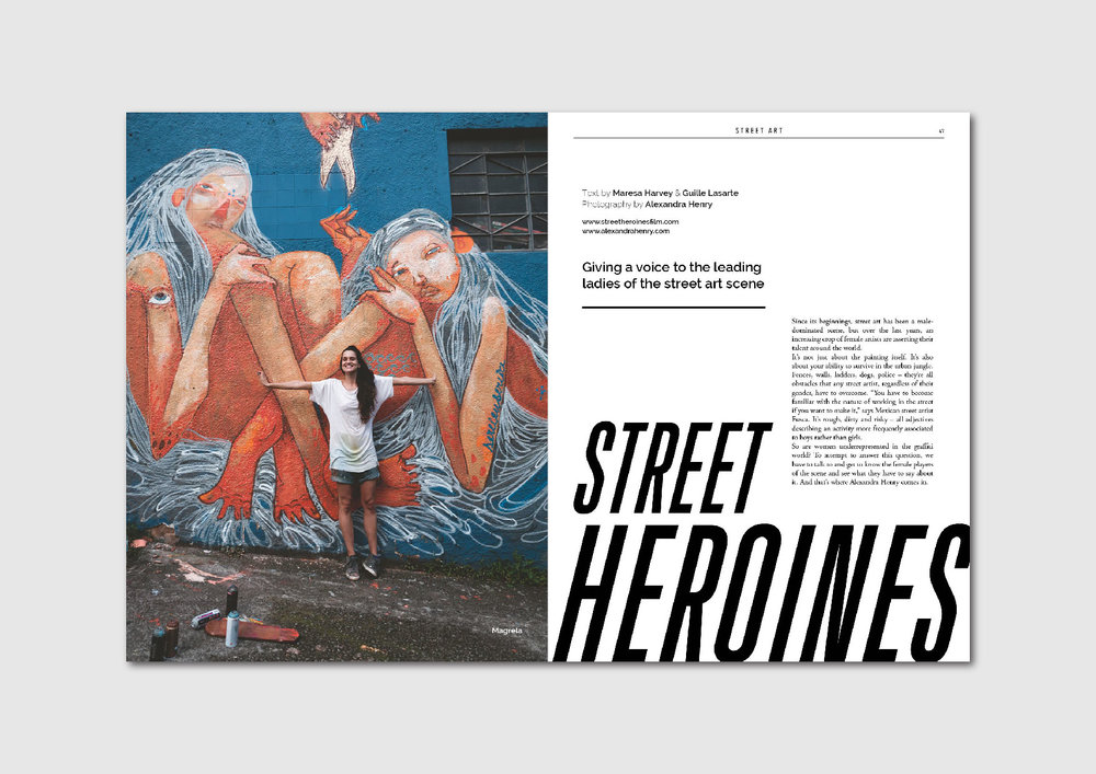 Street Heroines:  Alexandra Henry's documentary on female street artists