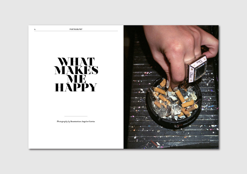 What makes me happy:  photo series by Konstantinos Angelos Gavrias