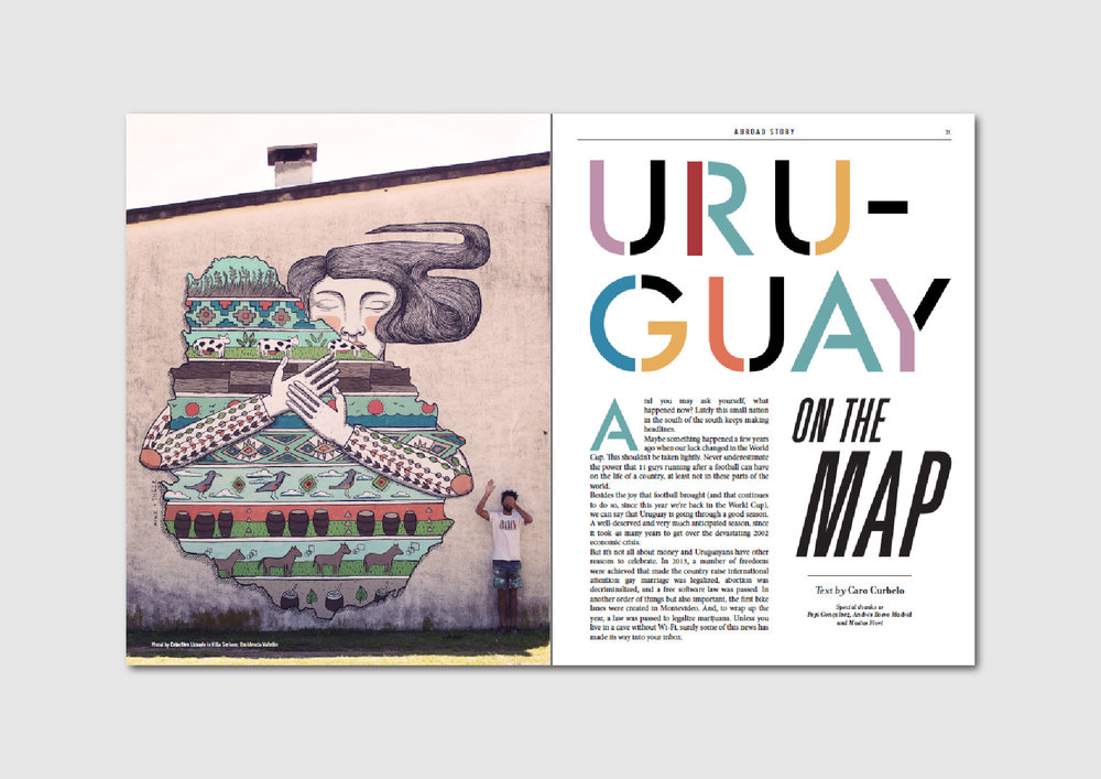 Uruguay on the Map:  learning about the rising street art scene in Uruguay