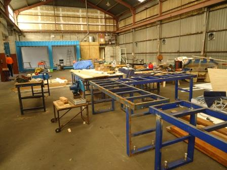 Our Sealord donated metal pallets