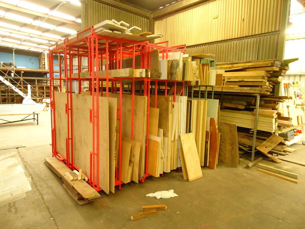 Tidy Kiwi's MDF rack