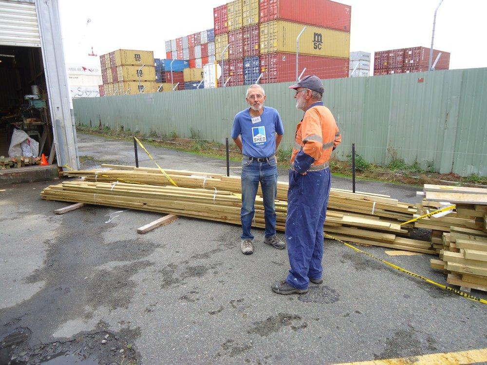 Mitre 10 donate timber