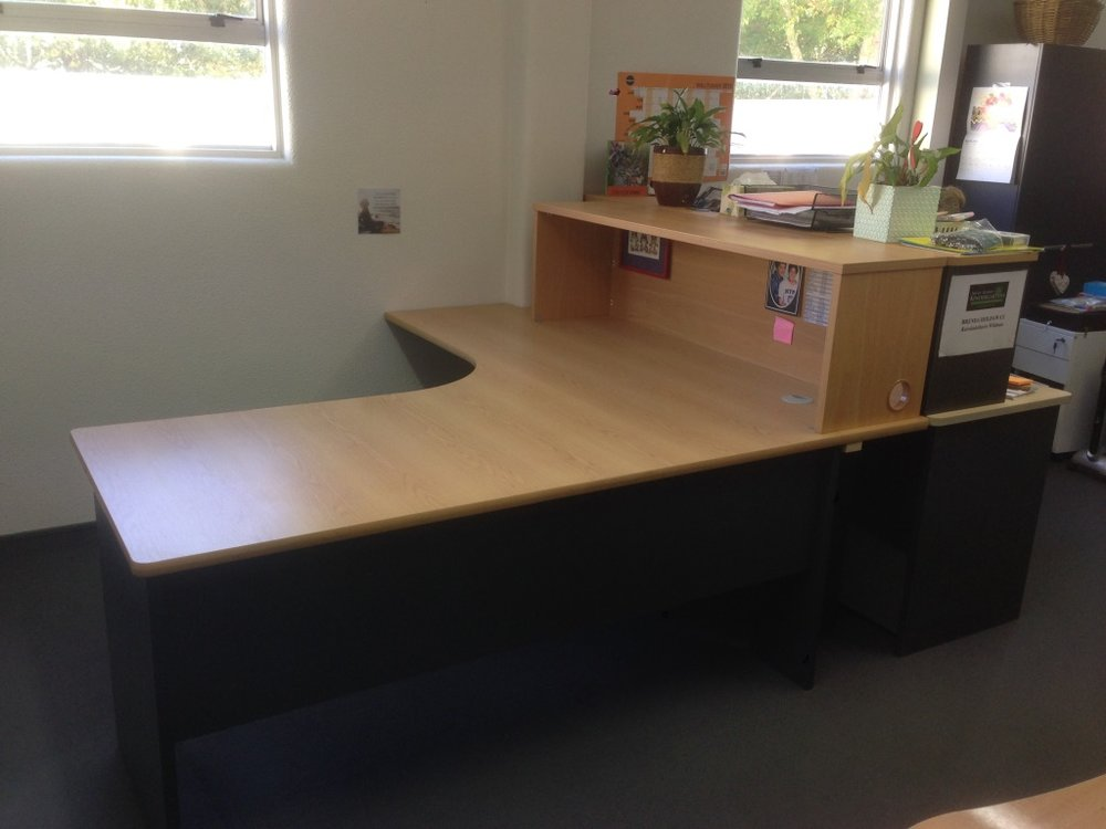 Nelson/Tasman Kindy's new desk.