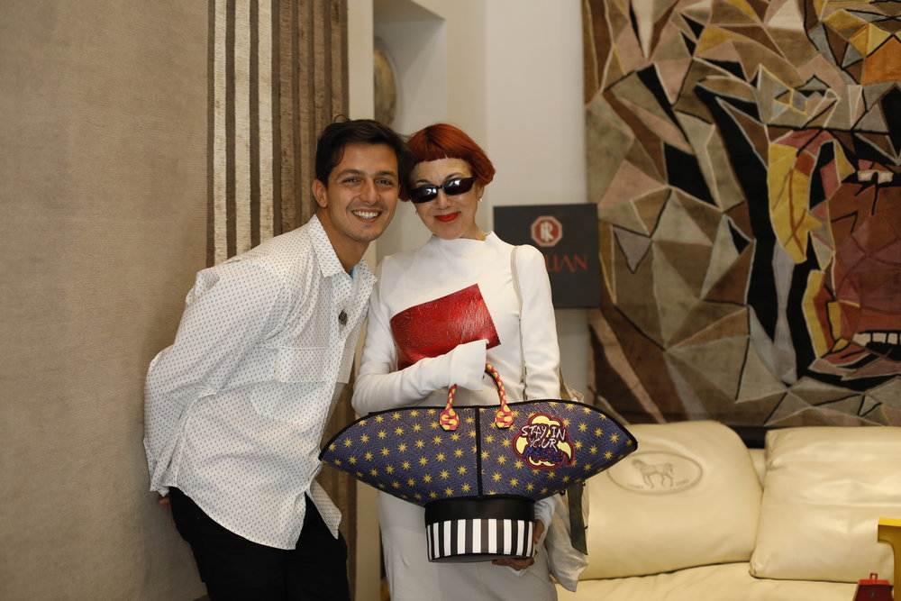 Alessandro Enriquez with Ms Castro Rides