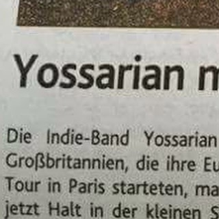 Just when we thought we were getting a good reputation in Germany... #Yossarian #dontkillus #worldtour #lostintranslation