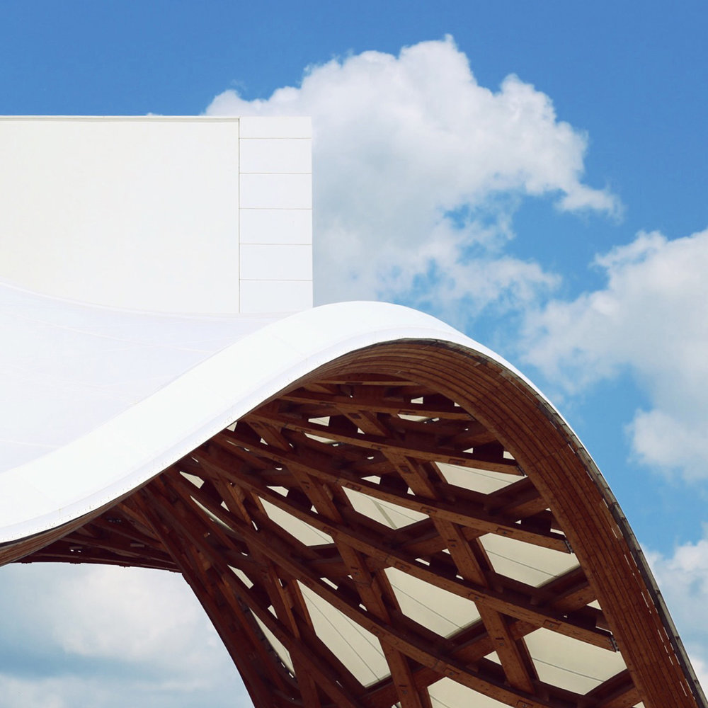 Centre Pompidou-Metz <br />Location: Metz, France <br />Architects: Shigeru Ban Architects