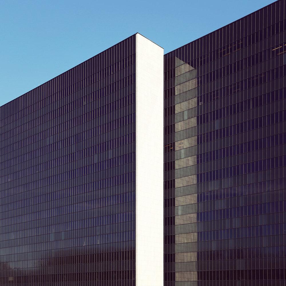 Vierscheibenhaus <br />Location: Hamburg, Germany <br />Architect: Arne Jacobsen