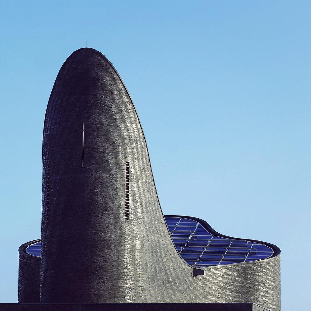 Church St. Marien <br />Location: Schillig, Germany <br />Architect: Königs Architekten