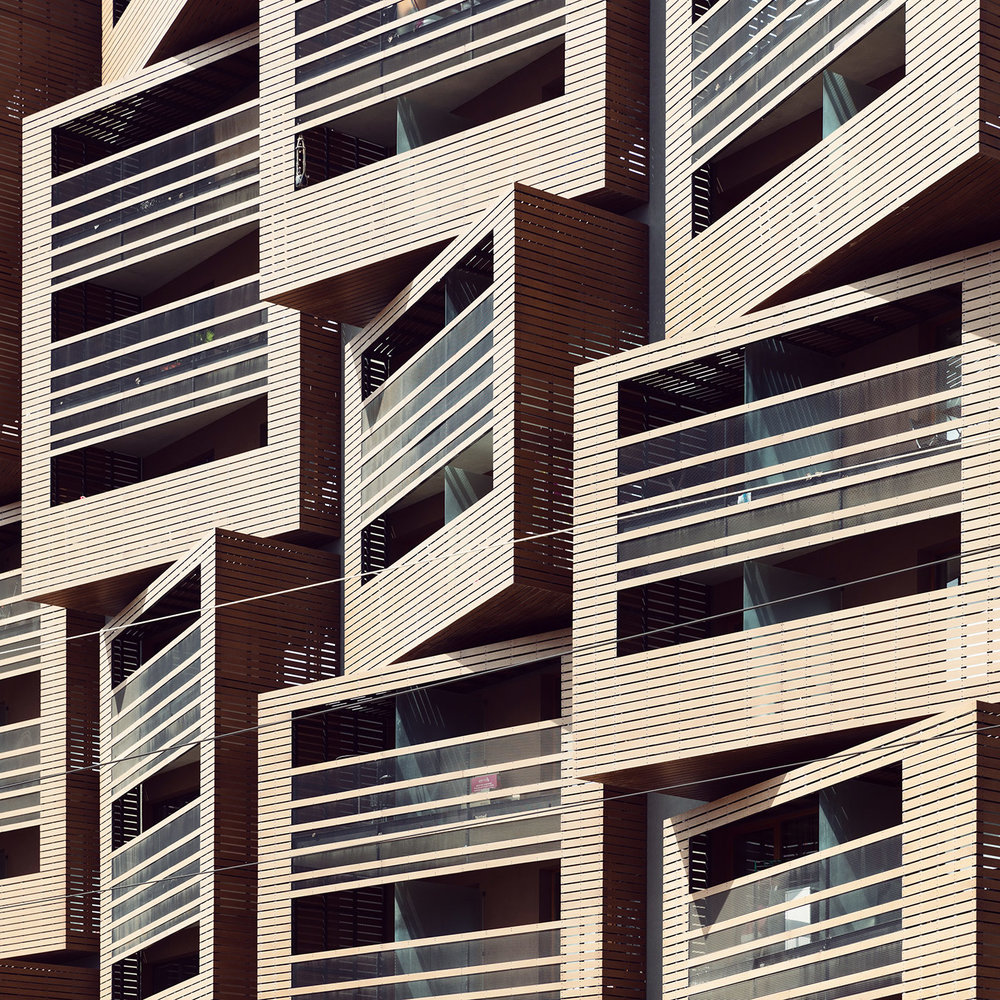 Basket Apartments <br />Location: Paris, France <br />Architect: OFIS Architects