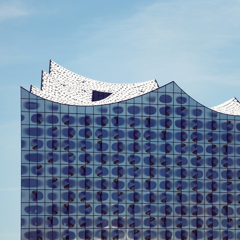 Elbphilharmonie <br />Location: Hamburg, Germany <br />Architects: Jacques Herzog & Pierre de Meuron