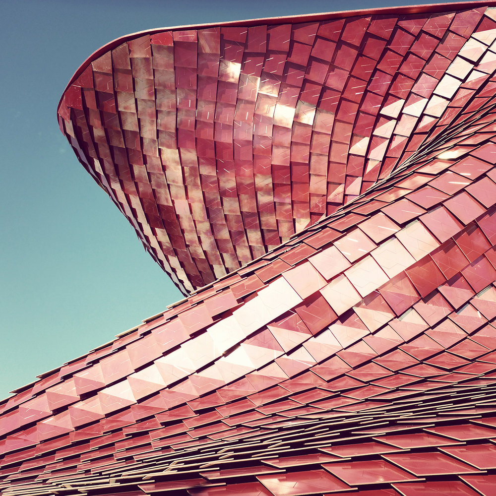 Vanke Pavilion Expo 2015 <br />Location: Milano, Italy <br />Architect: Daniel Libeskind